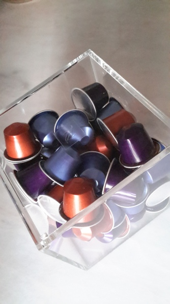 nespresso trans display