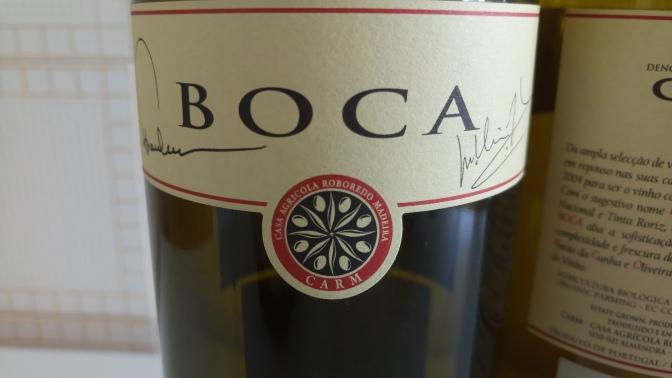 BOCA vinho CARM (rótulo frente).