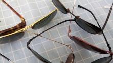 Óculos escuros Ray-Ban, Giorgio Armani, Dolce&Gabanna, Pouilloux Vuarnet e Chilli Beans.